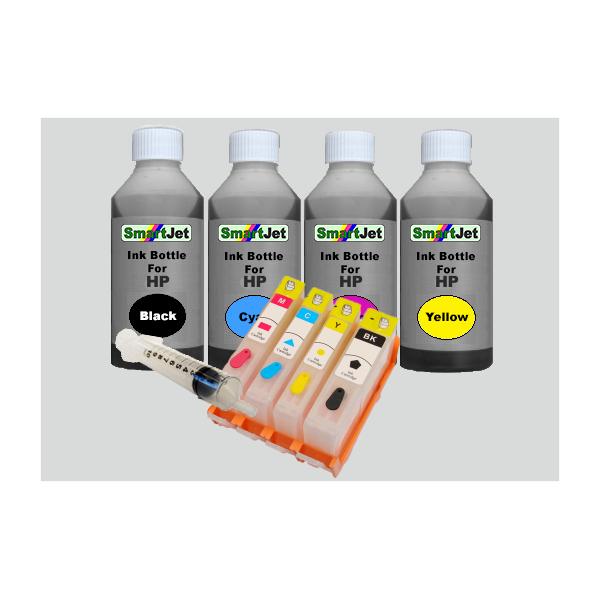 HP 920 XL Επαναγεμιζόμενα Μελάνια Black,Cyan,Magenta,Yellow