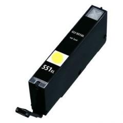 Canon CLI-551 XL Yellow (ΜΕ CHIP) Συμβατό μελάνι