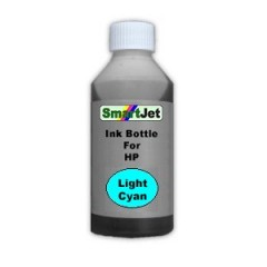 Bulk ink Bottle For HP 500ml Light Cyan