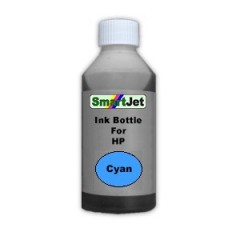 Bulk ink Bottle For HP 1000ml Cyan