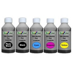 Bulk ink Bottle Set For Canon 100ml BK/PBK/C/M/Y