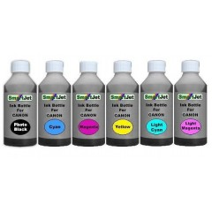 Bulk ink Bottle Set For Canon 50ml PBK/C/M/Y/LC/LM